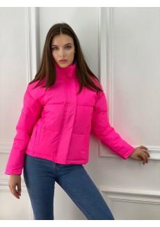 Светоотражающая куртка розовая